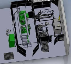 Hochspannungsvakuumschalter Umspritzen