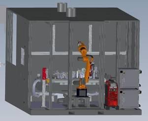 Innovative konventionelle roboterunterstützte Schweißtechnik