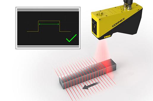 In-Sight Laser-Profiler Merkmale
