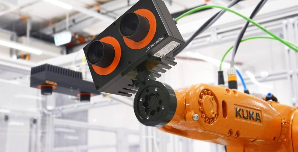 Kalibrierte 3D-Bildverarbeitung