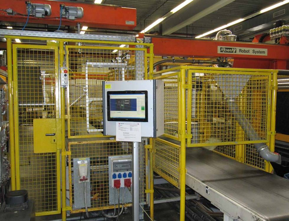 Visuelle Kontrolle in der Online Produktion: Automotive Molding Komponenten