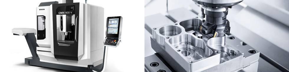 Erweiterung der CNC Zerspannung - CMX 800V