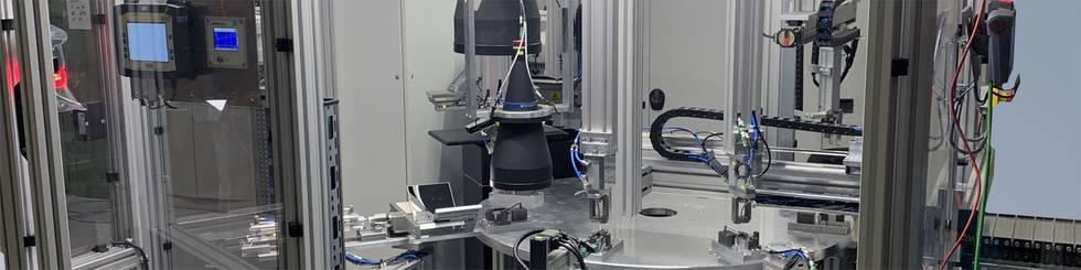 End of Line Testmaschine für sicherheitsrelevante Bauteile in der Automobilindustrie