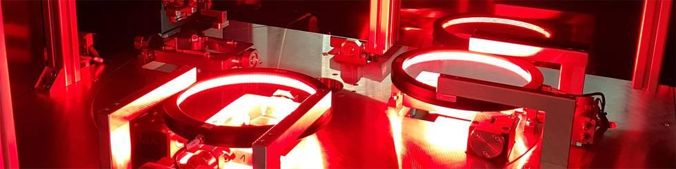 Examination of aluminium pressure pouring parts