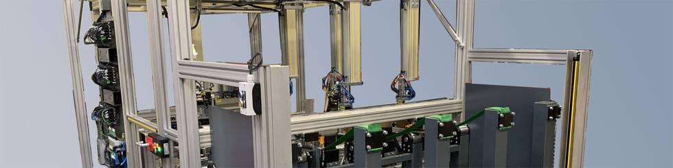 Standardized bar/tube separation system