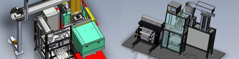 Automation IMM with insert extrusion-coating