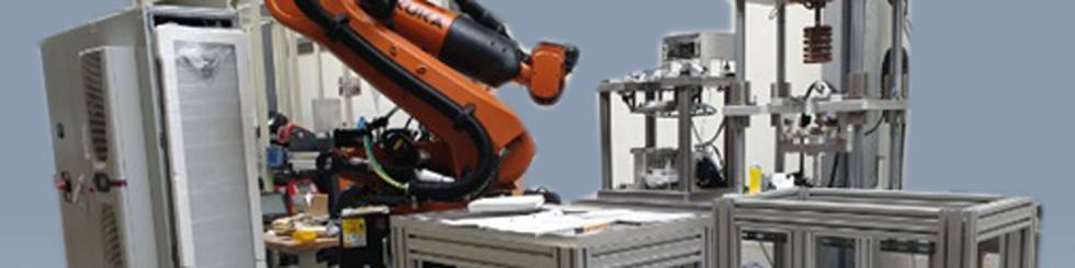E-motor assembly line