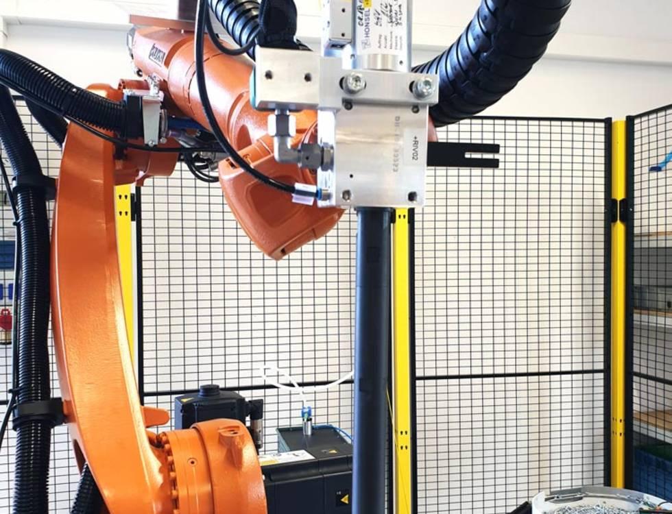 Blindnieten-Pistole Roboter