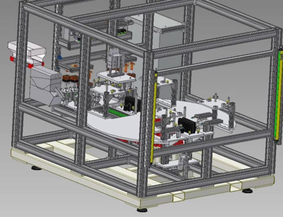 Erstellung von 3D-Modellen und Ableitung technischer Zeichnungen
