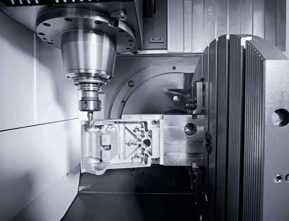 Erweiterung der CNC Zerspannung - CMX 50U