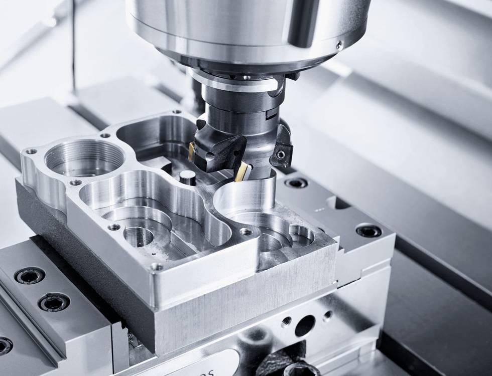 Expansion of CNC machining - CMX 800V