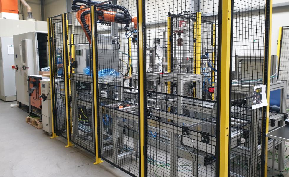 Montagehalle Sondermaschinenbau