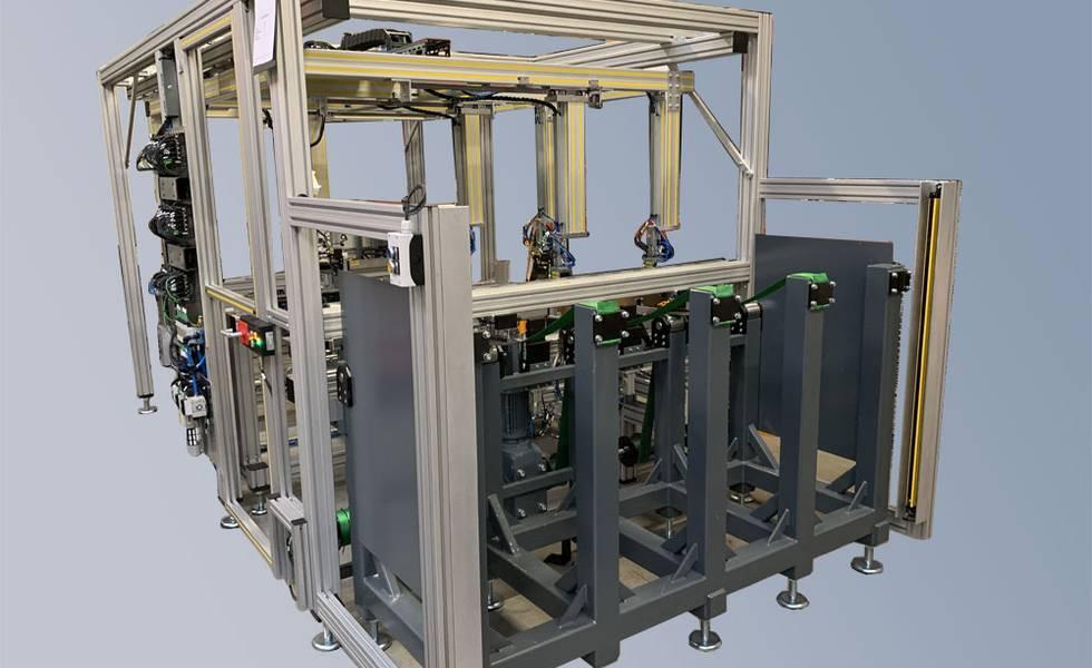 Standardisiertes Stangen-/Rohrvereinzelungssystem